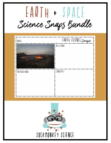 science vocabulary activity sockmonkey science earth space sample