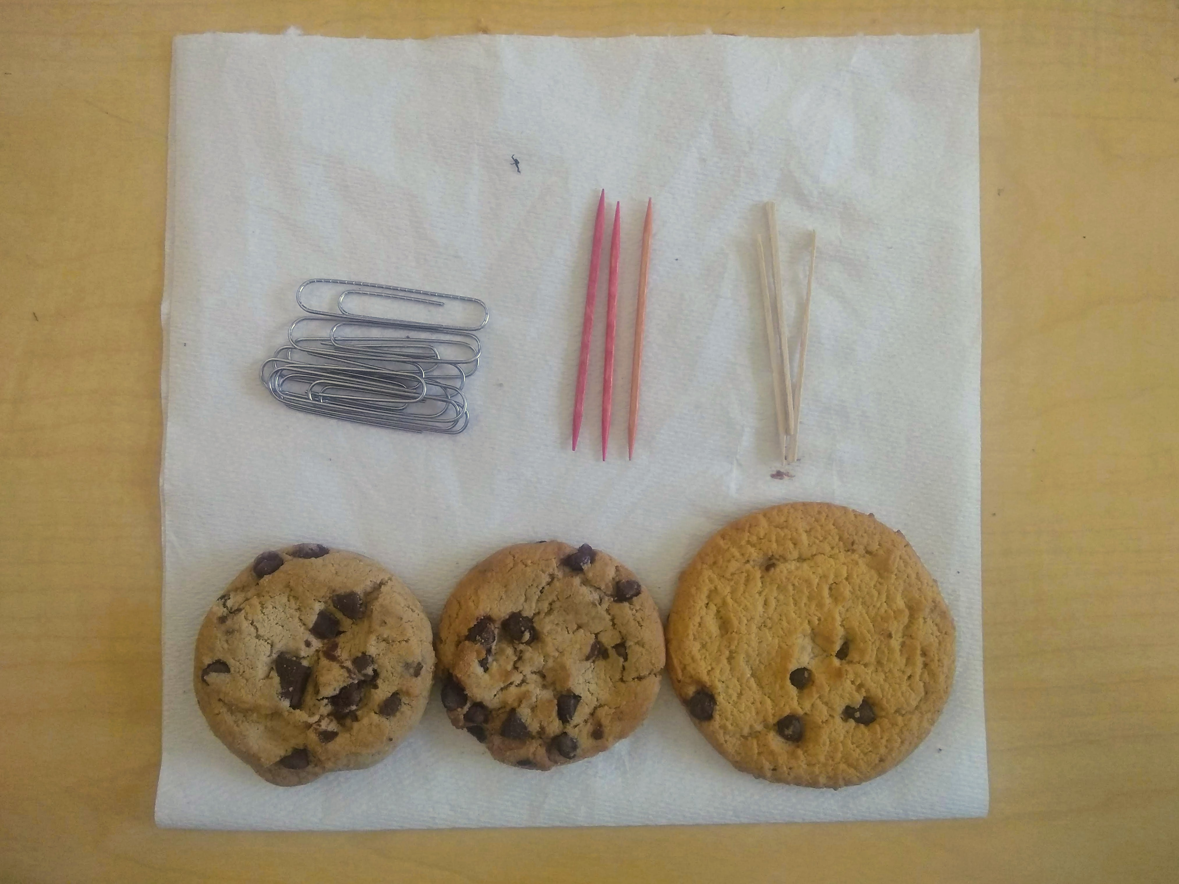 cookie mining lab for elementary and middle school rock cycle minerals conservation