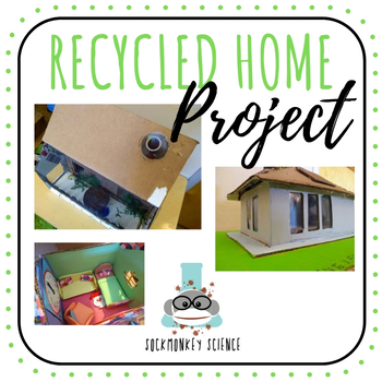 recycled home project science elementary middle school