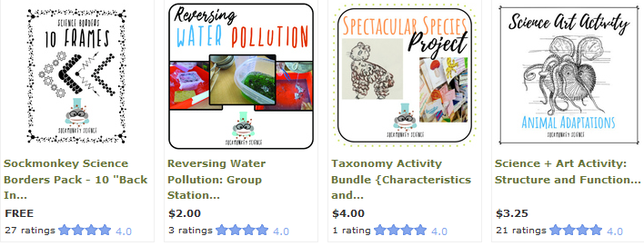 sockmonkey science tpt teachers pay teachers products resources activities labs stations worksheets projects
