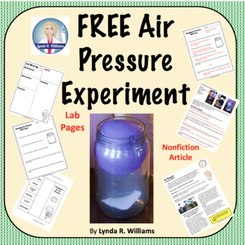 free back to school science activity Lynda R Williams Air Pressure Experiment