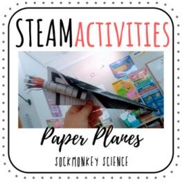 STEAM Metric Measurement Paper Airplanes
