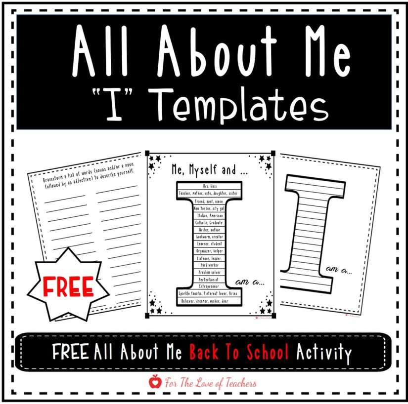 all about me elementary activity worksheet